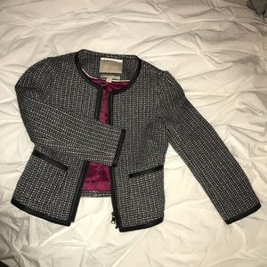 Banana republic tweed work jacket